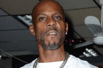 DMX performs at J&R Music World, Park Row, NYC with Talib Kweli